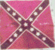 Confederate Battle Flag of the 28th Virginia from Gettysburg Battlefield